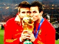 gerard pique and cesc fabregas kiss