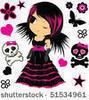 goth chibi cute :3