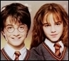 Harry and Hermione photo with a portrait titled harry and hermione