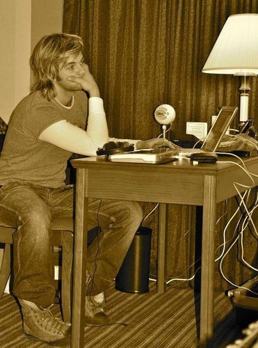 Keith Harkin wallpaper probably containing a desk, a writing desk, and a writing desk entitled me me me ... 8)