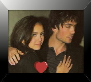Ian Somerhalder and Nina Dobrev images one heart <3 wallpaper and background photos