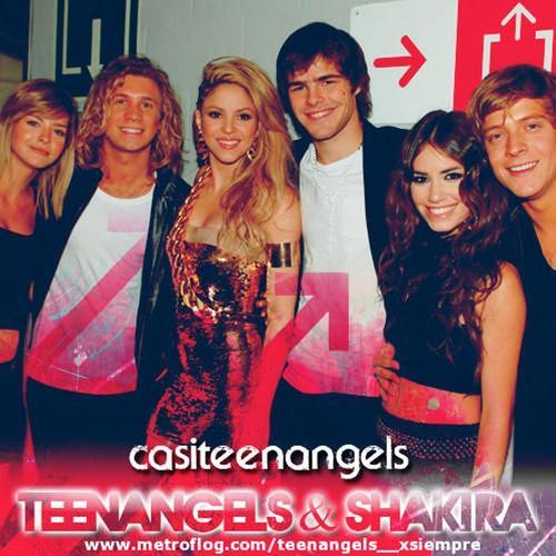 teenangels and Shakira