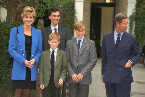william,harry,diana