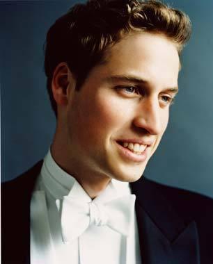 Prinz William Hintergrund with a business suit called william