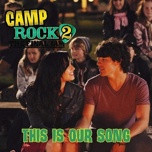 "Anichu90 wallpaper with anime called ""Camp Rock 2: The Final Jam"" cast - This Is Our Song [My FanMade Single Cover]"