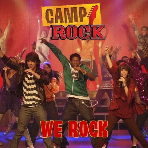 """Camp Rock"" cast - We Rock [My FanMade Single Cover]"