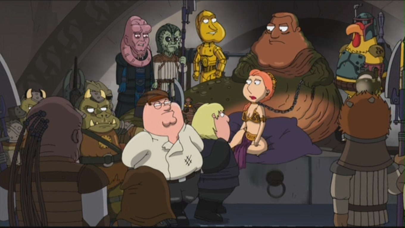 its a trap family guy