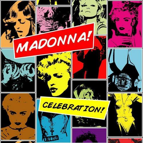 "-Madonna- ""Celebration"" Cover Album Art"
