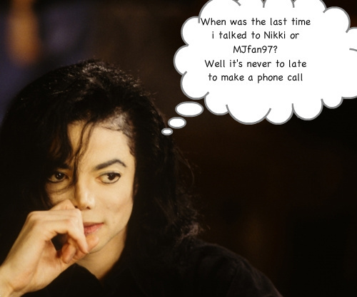 ♥♥♥Michael thinking about me and Nikki♥♥♥