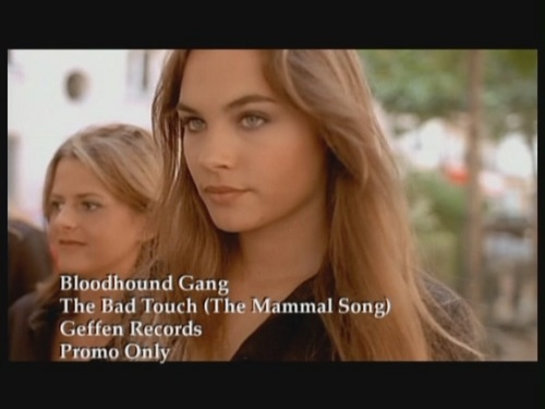 Bloodhound Gang wallpaper with a portrait entitled 'The Bad Touch'