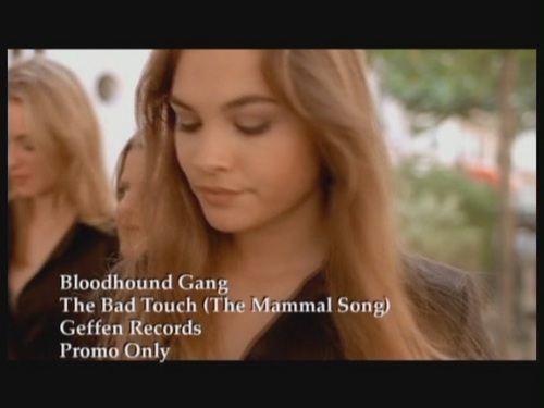 Bloodhound Gang wallpaper with a portrait called 'The Bad Touch'