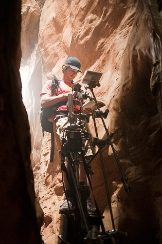 127 hours- Behind the scenes