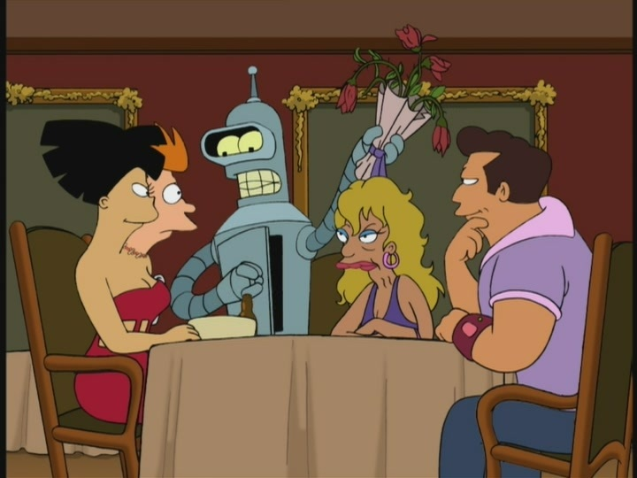 futurama bender dating service