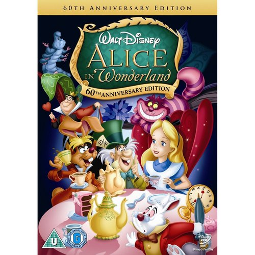 A Pic Of The New Alice In Wonderland Dvd Released In In Feb To Celebrate Its 60th Anniversary
