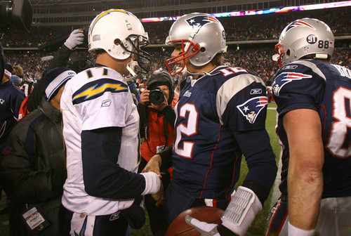 AFC Championship: San Diego Chargers v New England Patriots-January 20, 2008
