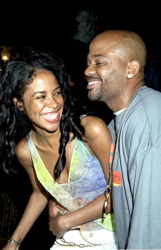 Aaliyah with boyfriend Damon Dash - aaliyah Photo