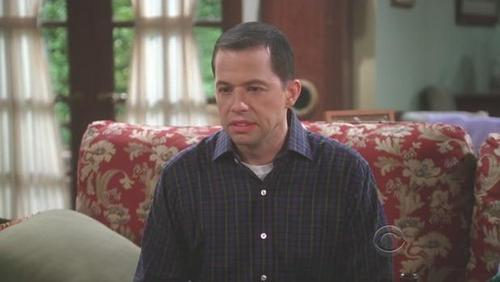 TV Male Characters wallpaper probably with a drawing room and a living room entitled Alan Harper