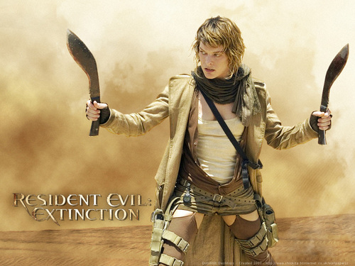 Resident Evil Movie wallpaper entitled Alice