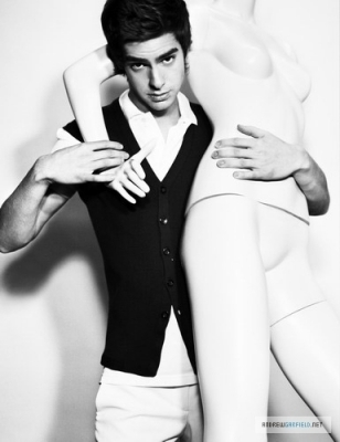 Andrew - L'Uomo Vogue Photoshoot (2007)