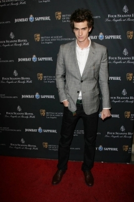 Andrew at BAFTA Awards 茶 Party - Arrivals (1/15/11)