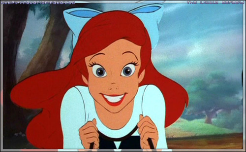 Disney Females wolpeyper with anime called Ariel