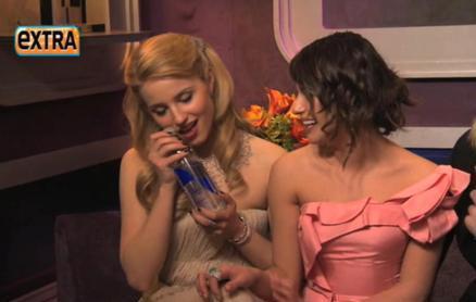 Backstage Golden Globes