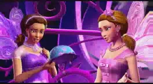 Barbie A Fairy Secret- Motorcycle helmet?