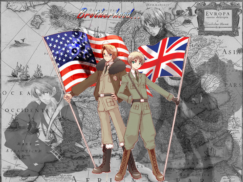 Hetalia UsUk Images Battlefield Of Love HD Wallpaper And Background Photos