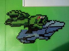 Battletoads Bead Art por Pixelated Production
