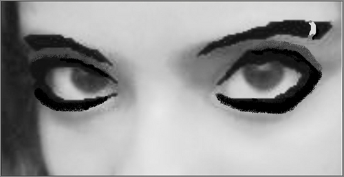 Bill Kaulitz 壁纸 titled Bill's eyes?