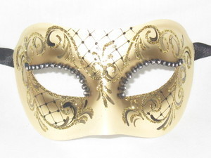 Masquerade wallpaper called Black Colombina Ilary Venetian Mask