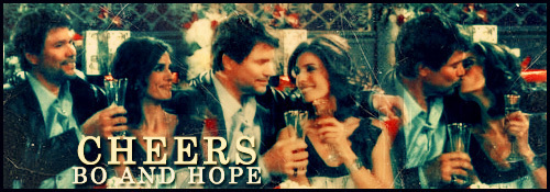 Days of Our Lives wallpaper possibly with anime titled Bo & Hope