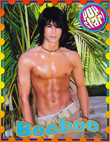Boo Boo Stewart wallpaper probably containing a hunk, a six pack, and swimming trunks called Booboo Stewart Popstar photoshoot