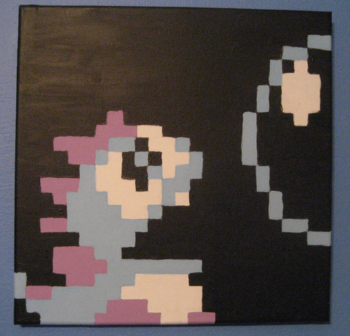 Bubble Bobble Art سے طرف کی Pixelated Production