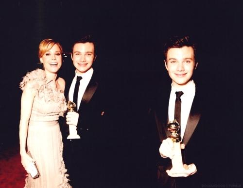 Cast @ the Golden Globes {Fanart}