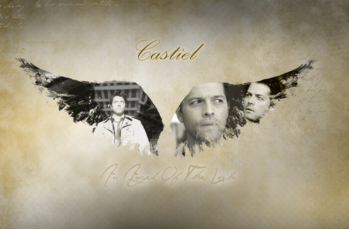 Castiel वॉलपेपर possibly containing ऐनीमे titled Castiel