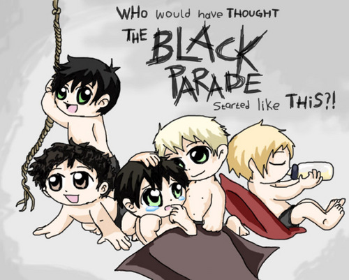 chibi Baby My Chemical Romance