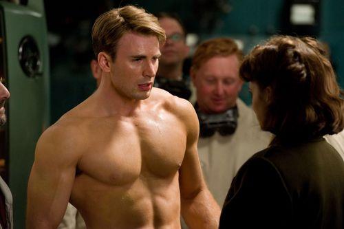 Chris in Captain America: The First Avenger