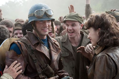 Chris in Captain America: The First Avenger