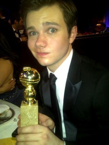 Chris @ the Golden Globes