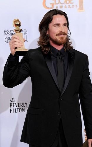 Christian @ 2011 Golden Globe Awards