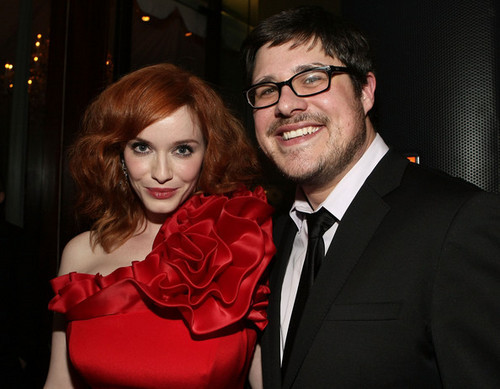 Christina Hendricks - AMC's 2011 Golden Globe Awards Party