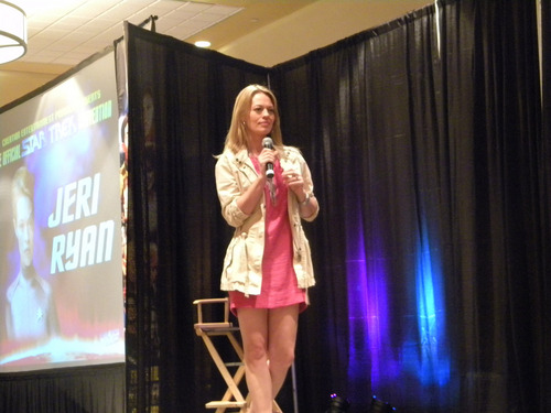 Creation star, sterne Trek Convention. Parsippany, New Jersey