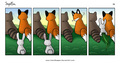 Cute fox, mbweha Comic!
