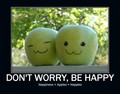 DON'T WORRY,BE HAPPY