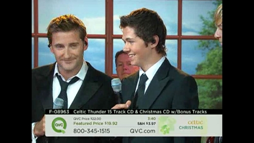 Damian and Paul on QVC - Sep. 8, 2010