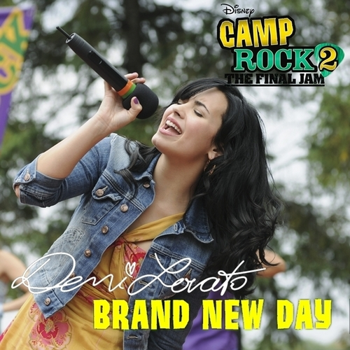 Demi Lovato - Brand New hari [My FanMade Single Cover]