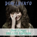 Demi Lovato - Don't Forget (Deluxe Edition) [My FanMade Album Cover] - anichu90 fan art