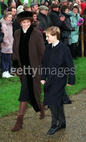 Diana William Harry At Natale