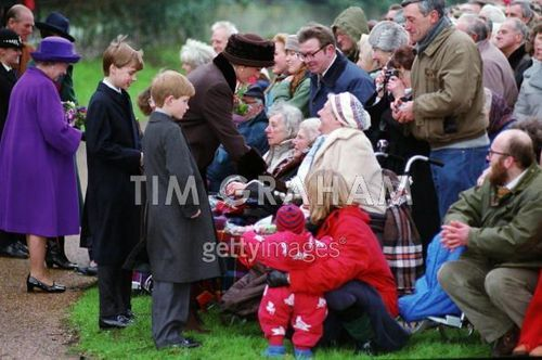 Diana William Harry At Krismas